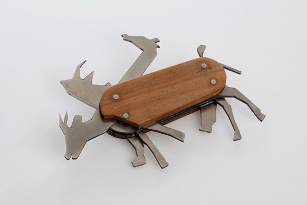 Игрушка Animal pocket knife в виде складного ножа