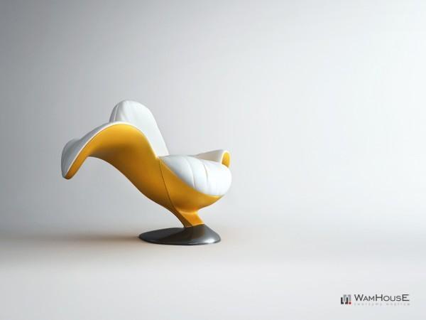 Концептуальное кресло  Zjedzony от компании WAMHOUSE