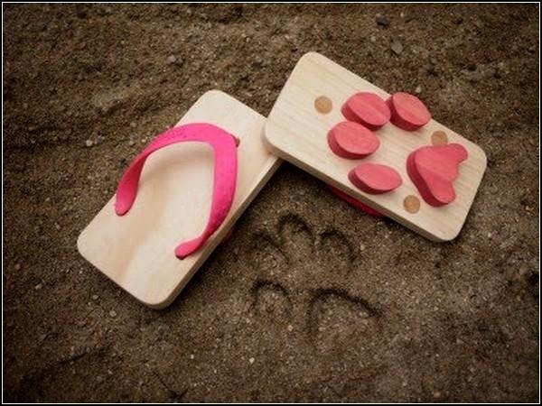 Ashiato, сандалии со следами котика