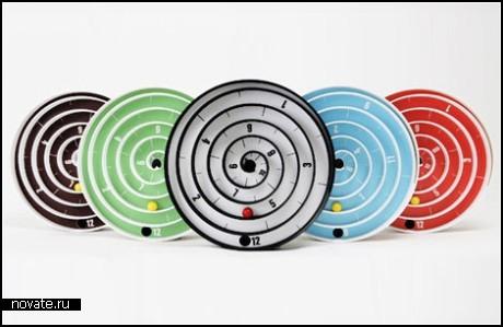 Необычные спиральные часы Aspiral Clocks
