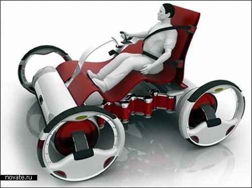 Концептуальная современная карета-гибрид