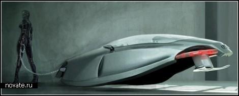 Аudi Shark от Казима Доку (Kazim Doku). Концепт летающе-плавающего автомобиля будущего