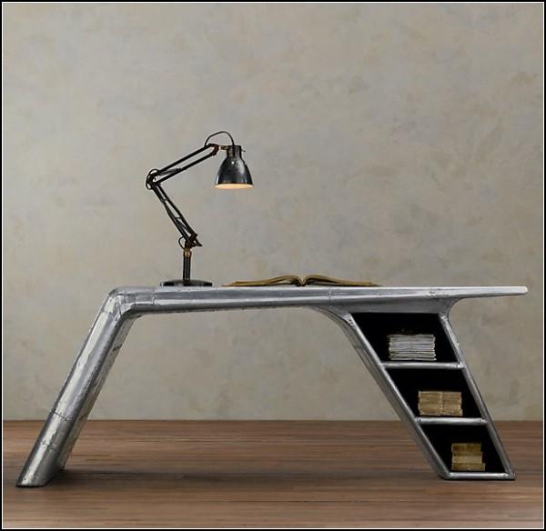 Стол Aviator wing desk, имитация крыла самолета-истребителя