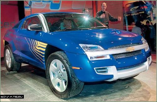 Chevrolet Borrego. Пятое место рейтинга