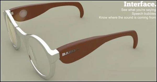 Очки-слуховой аппарат Babel покажут, о чем говорят всхух