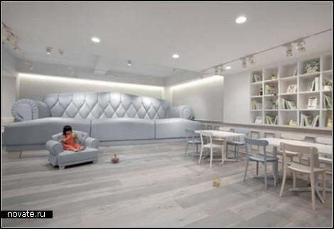 Tokyo Baby Cafe для детей и их родителей