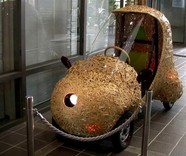 Bamgoo, бамбуковый электромобиль из Киото