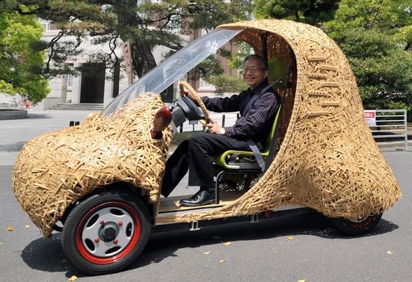 Bamgoo, бамбуковый электромобиль от изобретателей из киотского университета