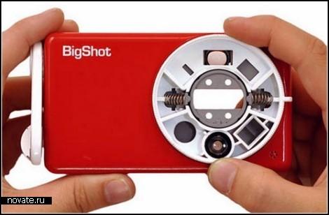 Детская фотокамера Bigshot, которую нужно собрать самому
