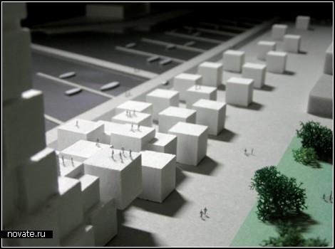 Концепт архитектурного комплекса для портового города Дюнкерк