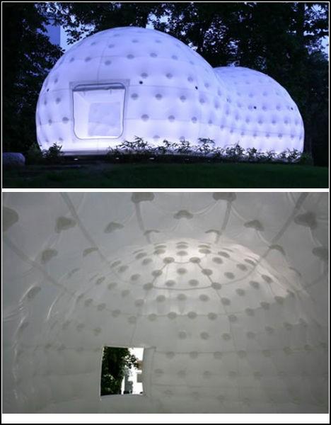 Обзор надувной архитектуры