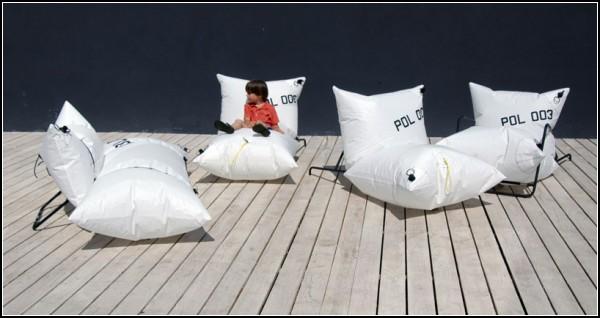 Blow Collection: коллекция дизайнерской надувной мебели для молодежи