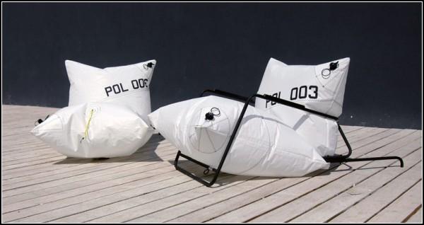 Explore Armchair и Explore Chair, стул и кресло на воздушных подушках