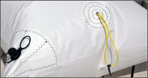 Воздушная подушка в качестве кресла или дивана