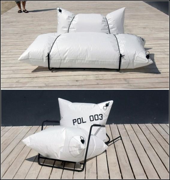 Дизайнеры из Malafor придумали коллекцию надувной мебели