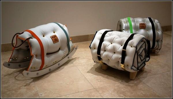 Коллекция надувной посуды и мебели Bojaki