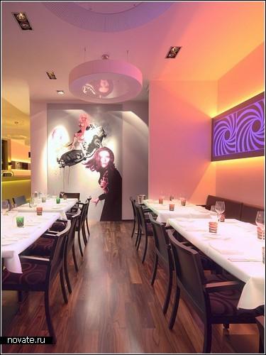 Ресторан Bond Berlin в стиле агента 007