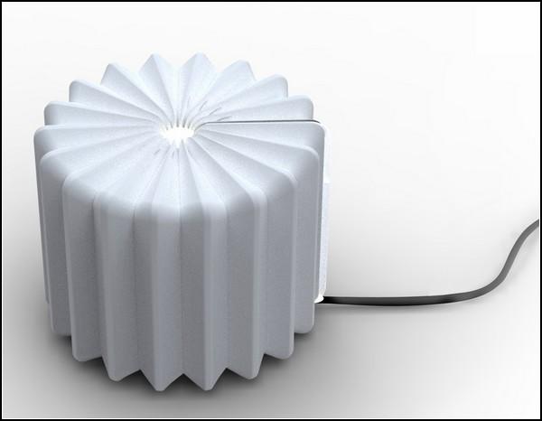 Лампа-книга, лампа-молескин Book Lamp