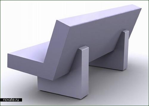 Скамейка для меломана