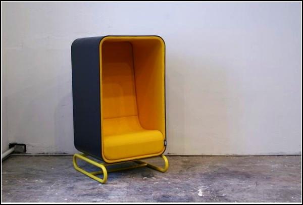 Полу-коробка как мебель для офиса и дома