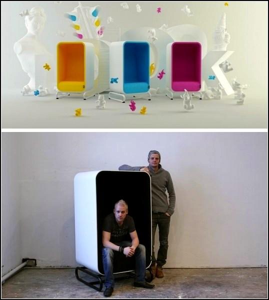 Мебель-коробки Box Sofa и Lounger от Loook Industries