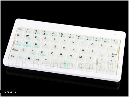Беспроводная клавиатура-малышка от Brando