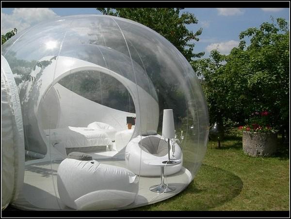 Абсолютно прозрачный гостиничный номер BubbleTree