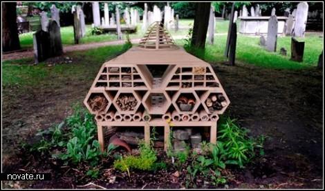 Отели для насекомых. Архитектурный фестиваль в Лондоне