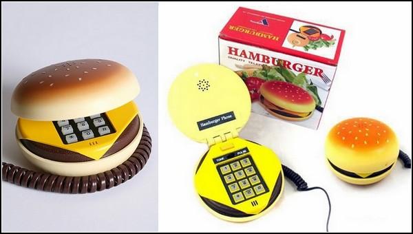 Телефон-гамбургер