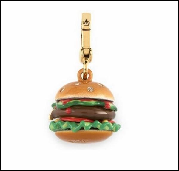 Подвеска в виде гамбургера