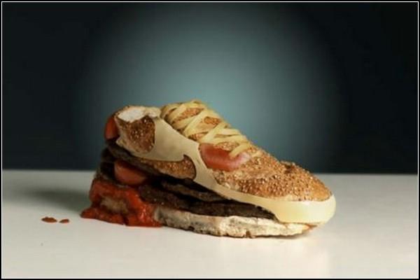 Кроссовок-бургер