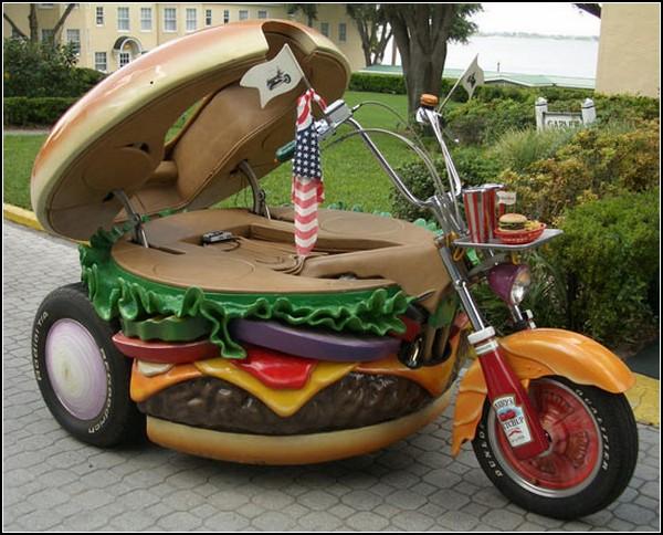 Мотоцикл-гамбургер