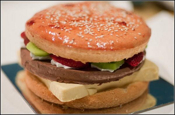 Гамбургер-торт