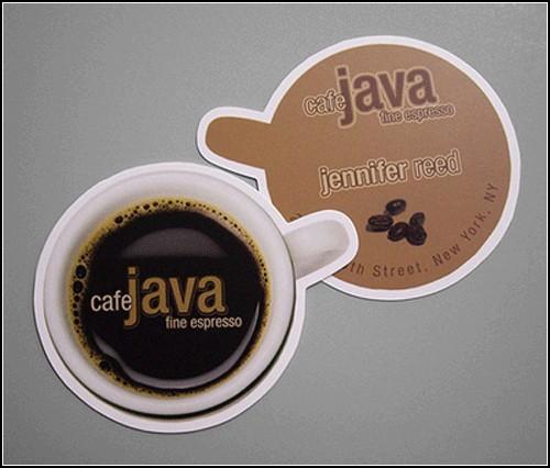 Кофейная визитка