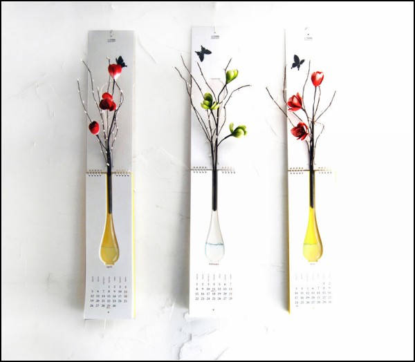 Календарь-ваза от Nothing Design Group