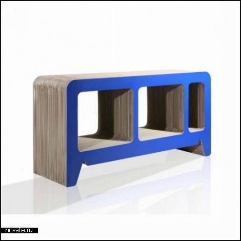 Картонная мебель Рейнхарда Дьенеса (Reinhard Dienes)