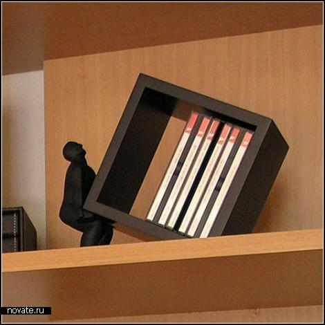 Обзор держателей для компакт-дисков