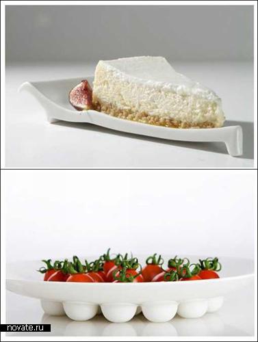 Необычные тарелки для конфет, слив, трюфелей и торта. Дизайнер Элла Хадас (Ella Hadas)