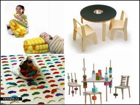 Обзор дизайнерских проектов для детских игр