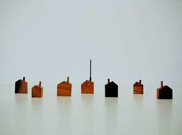 Chimney House, креативный держатель ароматических палочек от design office A4