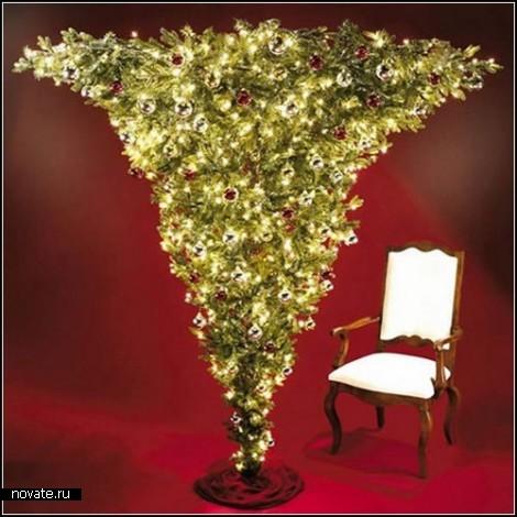 Обзор необычных новогодних елок