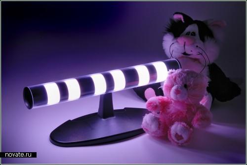Chronochrome - и лампа-ночник, и определитель времени