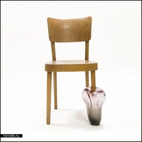 Cinderella's Chair. Коллекция стульев с *протезами*
