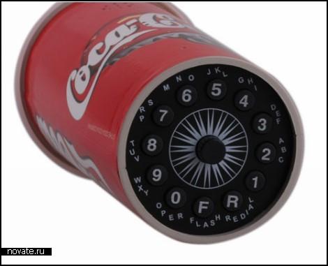 Coca Cola Cup Phone. Новый-старый стационарный телефон