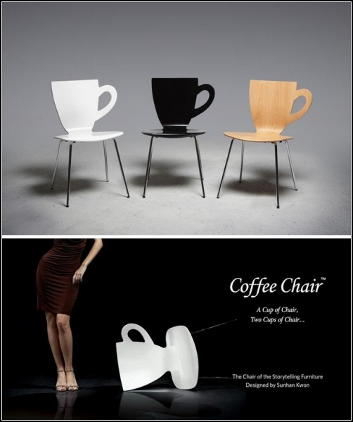 Coffee Chair.  Chair for the coffee get-togethers