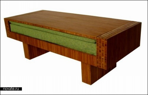 Кофейный столик, он же диван Futaba от дизайнера Akemi Tanaka