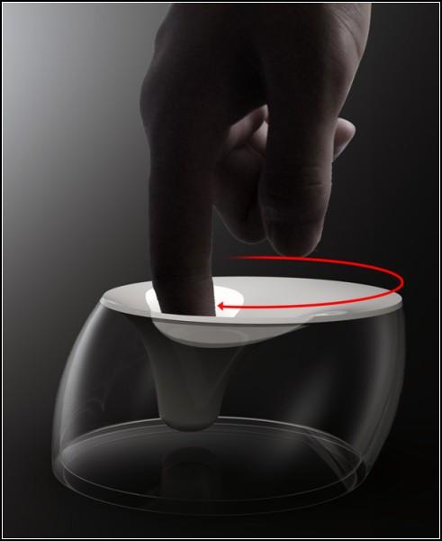 Размешаем сахар пальцем. Концепт Finger Coffee