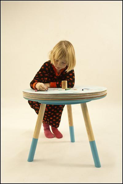 Come and Draw - простой и оригинальный художественный столик