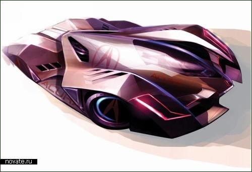 Экстремальный концепт-кар Acura-le-mans