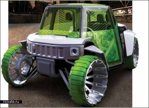 Концептуальный внедорожник Hummer-O2